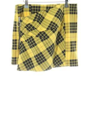 Zara Basic Skorts check pattern casual look