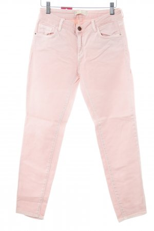 Zara Basic Slim Jeans apricot Casual-Look