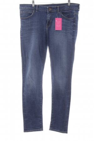 Zara Basic Slim Jeans blau Jeans-Optik