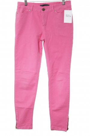 Zara Basic Slim Jeans pink Casual-Look