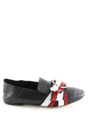 Zara Basic Slippers striped pattern casual look