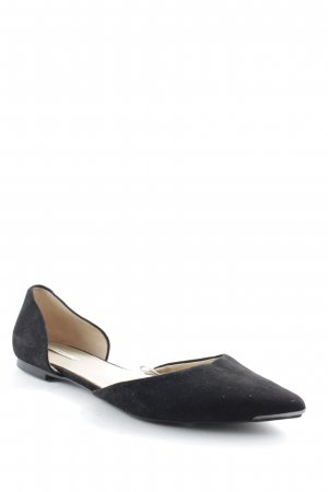 Zara Basic Slippers black-nude elegant