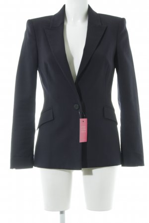 Zara Basic Blazer smoking blu scuro stile professionale