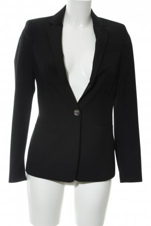 Zara Basic Blazer de esmoquin negro estilo «business»