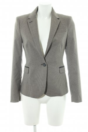 Zara Basic Smoking-Blazer Hahnentrittmuster Business-Look