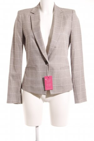 Zara Basic Blazer de esmoquin estampado a cuadros estilo «business»