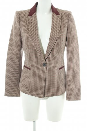 Zara Basic Smoking-Blazer Karomuster Business-Look