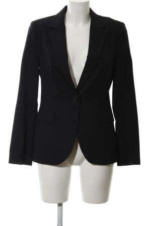 Zara Basic Tuxedo Blazer black business style