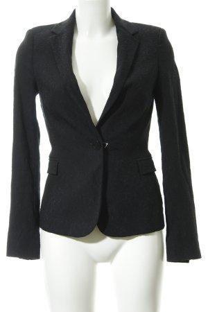Zara Basic Smoking-Blazer schwarz Elegant
