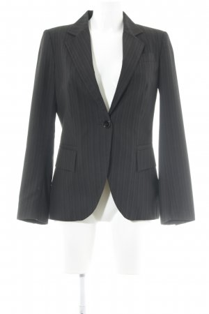 Zara Basic Veste de smoking noir motif rayé