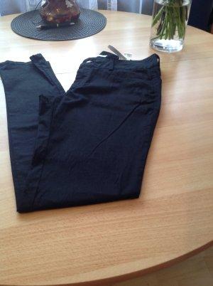Zara Basic Sommer Hose Baumwolle