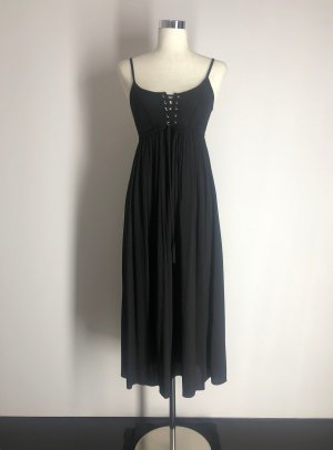 Zara Basic Corsage Dress black