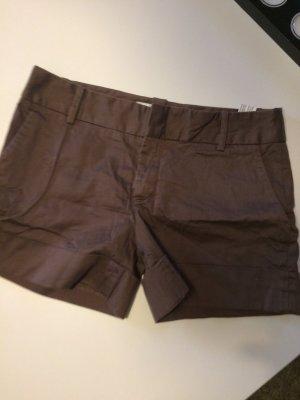 Zara Basic sommerliche Hotpants braun Gr M top gepflegt