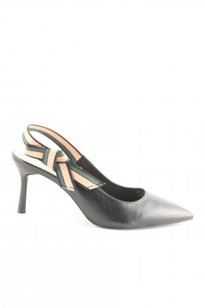 Zara Basic Pointed Toe Pumps multicolored business style