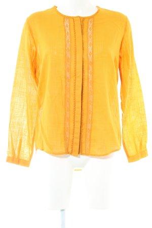Zara Basic Lace Blouse primrose business style
