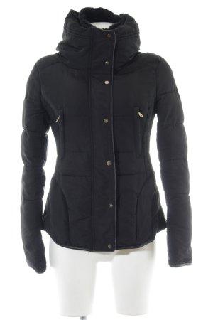 Zara Basic Veste matelassée noir style décontracté