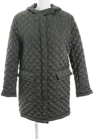 Zara Basic Steppjacke khaki Casual-Look