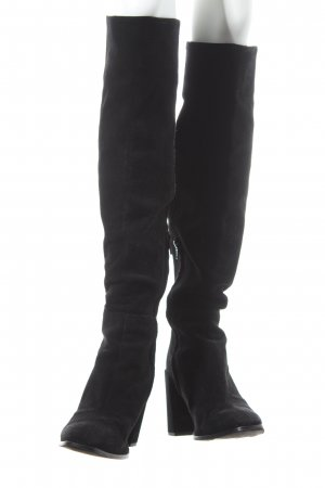 Zara Basic Stiefel schwarz Casual-Look