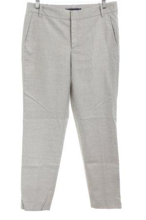 Zara Basic Stoffen broek lichtgrijs prints met een thema zakelijke stijl