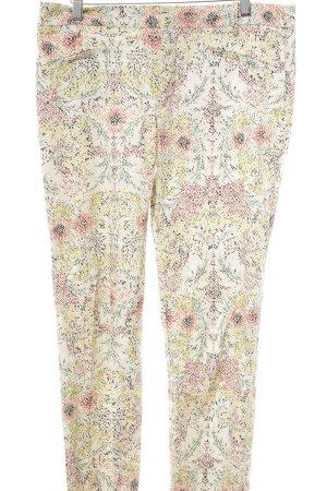 Zara Basic Stoffhose Blumenmuster