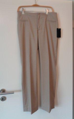 Zara Basic Stoffhose Büro beige Gr. 38 neu mit Etikett