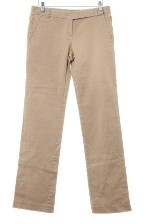 Zara Basic Stoffhose camel-beige Business-Look