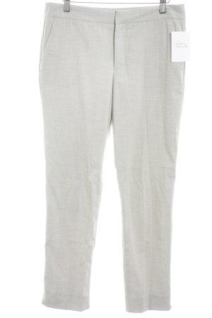 Zara Basic Stoffhose creme meliert Business-Look