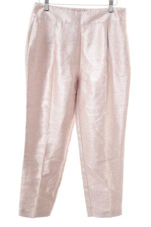 Zara Basic Stoffhose rosé Elegant