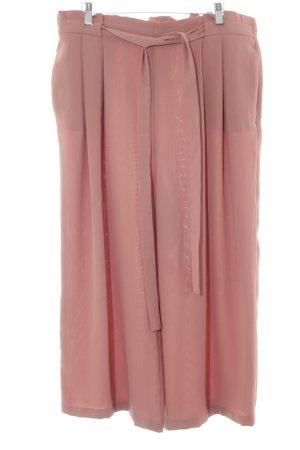 Zara Basic Stoffhose rostrot Dekoelemente