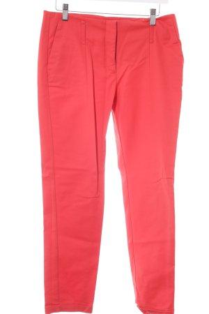 Zara Basic Stoffhose rot Casual-Look
