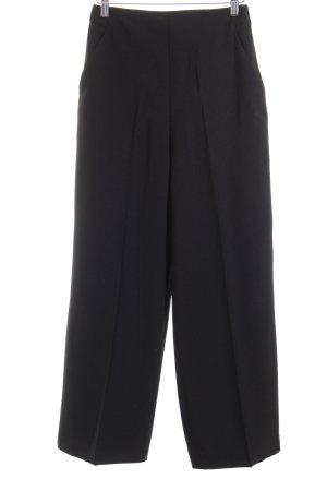 Zara Basic Stoffhose schwarz