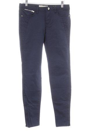 Zara Basic Stretch Jeans dunkelblau Casual-Look