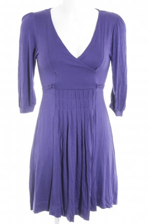 Zara Basic Stretchkleid dunkelviolett
