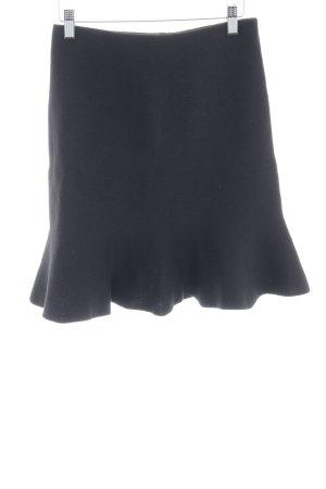 Zara Basic Jupe tricotée noir élégant