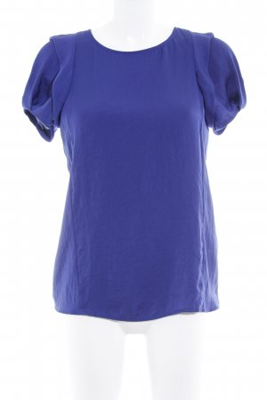 Zara Basic T-Shirt blau extravaganter Stil