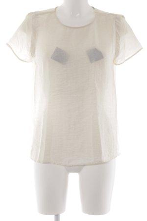Zara Basic T-Shirt creme Elegant