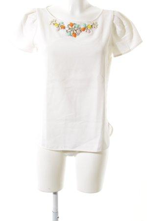 Zara Basic T-Shirt florales Muster Elegant
