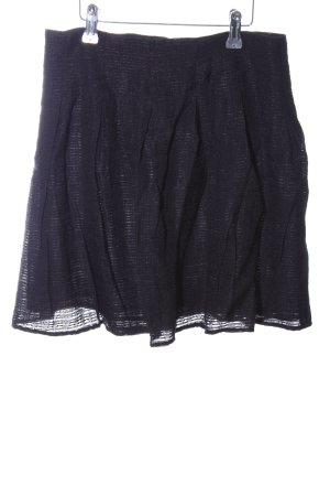 Zara Basic Jupe corolle noir style décontracté