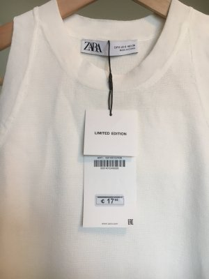 Zara Basic Top white
