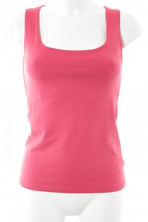 Zara Basic Top pink Casual-Look