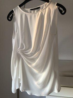 Zara Basic Haut basique blanc