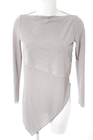 Zara Basic Top grey casual look