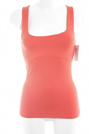 Zara Basic Top neonorange Casual-Look