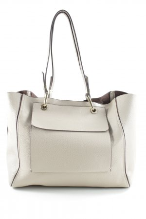 Zara Basic Tote beige-grey brown business style