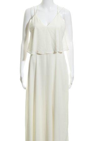 Zara Basic Trägerkleid creme Elegant