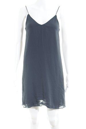 Zara Basic Trägerkleid dunkelblau Elegant