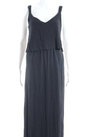 Zara Basic Trägerkleid dunkelblau Lagen-Look
