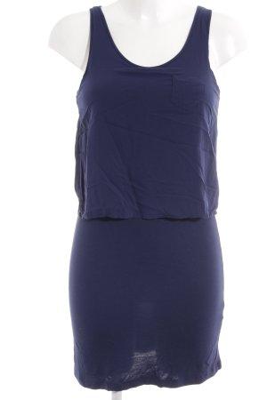 Zara Basic Trägerkleid dunkelblau schlichter Stil