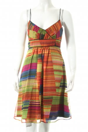 Zara Basic Trägerkleid mehrfarbig Romantik-Look