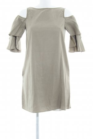 Zara Basic Trägerkleid olivgrün Casual-Look